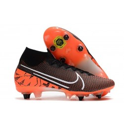 Nike Mercurial Superfly VII Elite SG Pro Black Crimson White