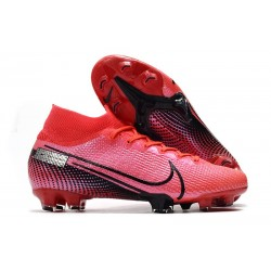 Nike Mercurial Superfly 7 Elite FG News Boot Laser Crimson Black
