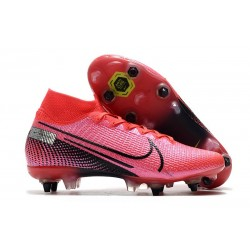 Nike Mercurial Superfly VII Elite SG Pro Future Lab -Laser Crimson Black