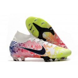 Nike Mercurial Superfly 7 Elite FG Neymar White Black Racer Blue Volt