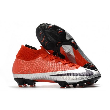 Nike Mercurial Superfly VII Elite DF FG Future DNA Red Silver Black