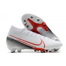 Nike Mercurial Superfly 7 Elite AG-PRO White Red Black