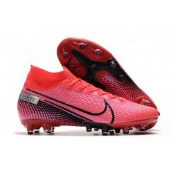 Nike Mercurial Superfly 7 Elite AG-PRO Laser Crimson Black