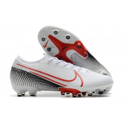 Nike Mercurial Vapor 13 Elite AG-PRO Artificial-Grass White Laser Crimson