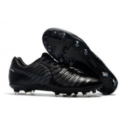 Nike Tiempo Legend VII Elite FG New Football Boots - All Black