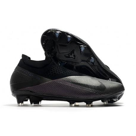 Nike Phantom Vision 2 Elite DF FG Cleats -Kinetic Black