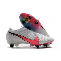 Nike Mercurial Vapor 13 Elite SG Anti-Clog White Red
