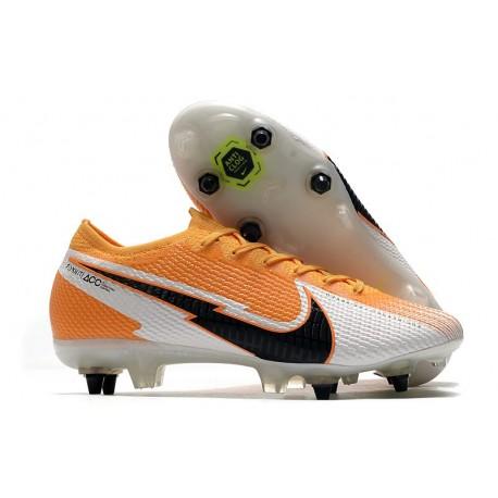 Nike Mercurial Vapor 13 Elite SG Anti-Clog Laser Orange Black White