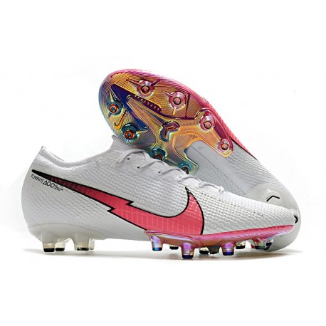 Nike Mercurial Vapor 13 Elite AG-PRO Artificial-Grass White Red Blue