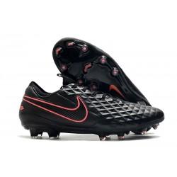 Nike Tiempo Legend 8 FG Firm Ground Black Pink