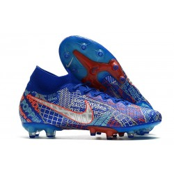 Nike Mercurial Superfly 7 Elite AG SE11 Sancho Blue Red