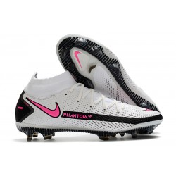 New Nike Phantom GT Elite Dynamic Fit FG White Pink Black