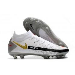 Nike Phantom Generative Texture Elite DF FG White Black Gray