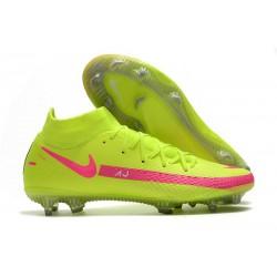 New Nike Phantom GT Elite Dynamic Fit FG Green Pink