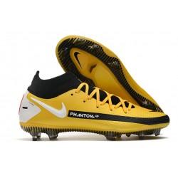 Nike Phantom Generative Texture Elite DF FG Yellow Black White