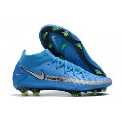 Nike Phantom Generative Texture Elite DF FG Blue Silver