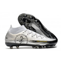 Nike Phantom GT Elite DF AG-Pro Boots Scorpion Silver Black