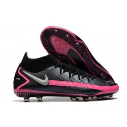 Nike Phantom GT Elite DF AG-Pro Black Pink Blast Metallic Silver