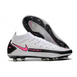 Nike Phantom GT Elite DF AG-Pro Boots White Pink Black
