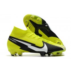 Nike Mercurial Superfly VII Elite Dynamic Fit FG Volt Black White
