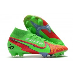 Nike Mercurial Superfly VII Elite Dynamic Fit FG Faith Green Red
