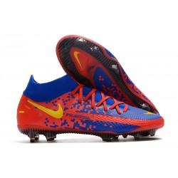 Nike Phantom Generative Texture Elite DF FG Red Blue Yellow