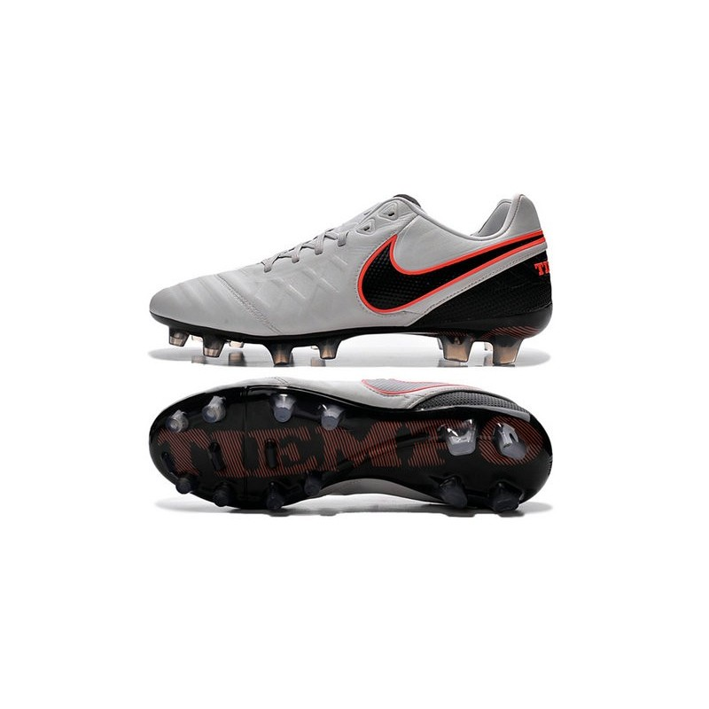 new style 6ce73 41ef6 Nike Tiempo Legend VI FG Football Boots for Men -White Black Orange  Maximize. Previous. Next