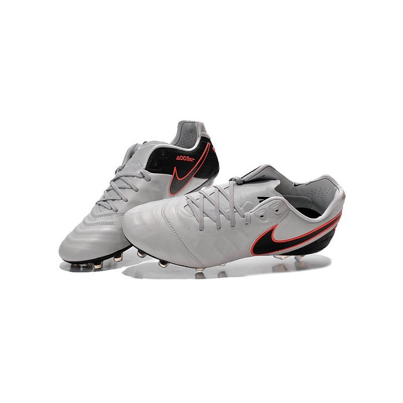 official photos cce54 ed95a Nike Tiempo Legend VI FG Football Boots for Men -White Black ...