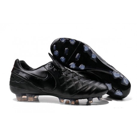 Nike Tiempo Legend VI FG Football Boots for Men -All Black
